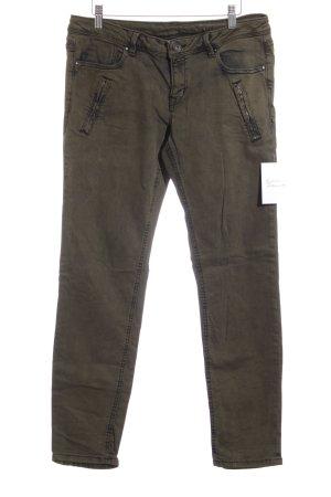 Edc Esprit Slim Jeans dunkelgrün Military-Look