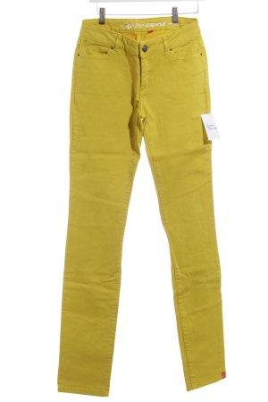 Edc Esprit Slim Jeans gelb-rot klassischer Stil