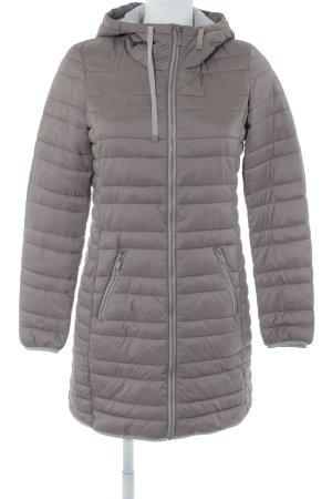 Edc Esprit Manteau matelassé gris lilas-gris clair motif de courtepointe