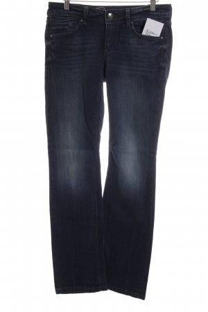 Edc Esprit Straight-Leg Jeans blau Casual-Look