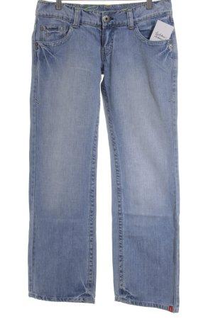 Edc Esprit Straight-Leg Jeans himmelblau Casual-Look