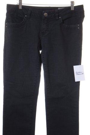 Edc Esprit Straight-Leg Jeans schwarz schlichter Stil