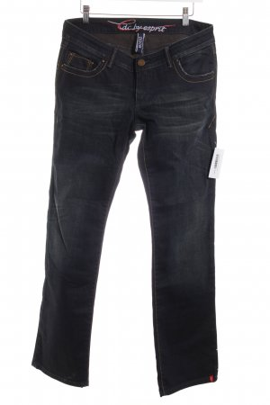 Edc Esprit Straight-Leg Jeans taupe Casual-Look