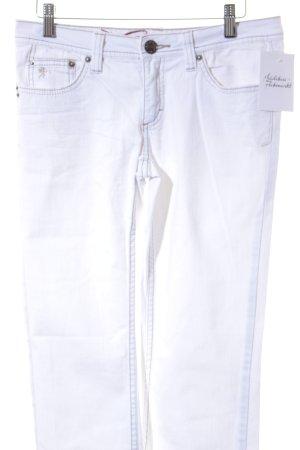 Edc Esprit Straight-Leg Jeans wollweiß-beige Casual-Look