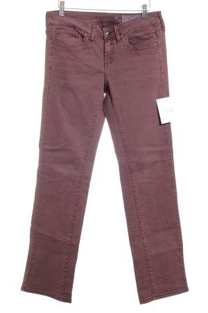 Edc Esprit Straight-Leg Jeans ziegelrot schlichter Stil