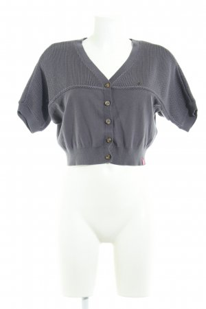 Edc Esprit Strickbolero anthrazit Casual-Look