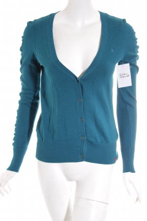 Edc Esprit Strickjacke petrol Casual-Look