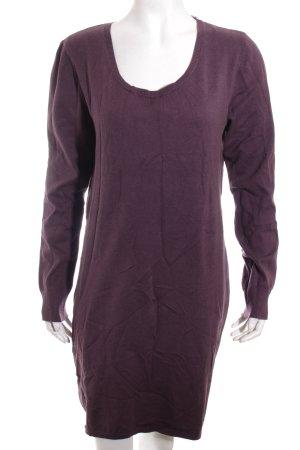 Edc Esprit Strickkleid purpur Casual-Look