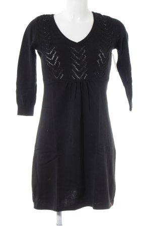 Edc Esprit Robe en maille tricotées noir style décontracté