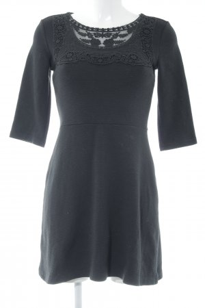 Edc Esprit Strickkleid schwarz Elegant