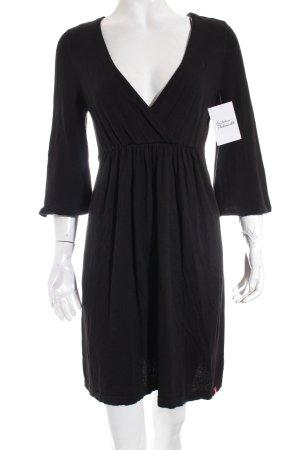 Edc Esprit Strickkleid schwarz klassischer Stil