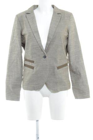 Edc Esprit Blazer de tela de sudadera caqui-gris verdoso estilo dandy