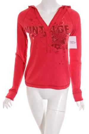 Edc Esprit Sweatshirt rot Casual-Look