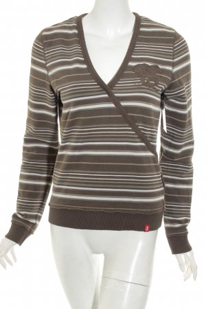 Edc Esprit Sweatshirt Streifenmuster Casual-Look