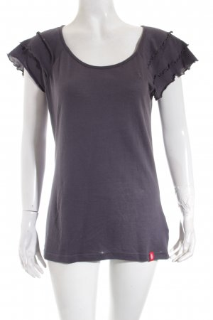 Edc Esprit T-Shirt dunkelgrau Casual-Look
