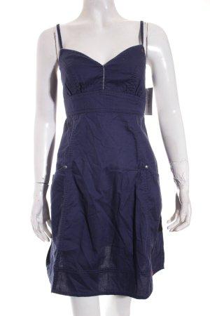 Edc Esprit Trägerkleid dunkelblau Beach-Look