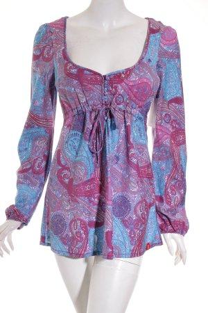 Edc Esprit Tunikabluse florales Muster Gypsy-Look