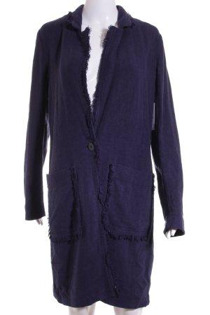 Edc Esprit Übergangsmantel dunkelblau Aztekenmuster Street-Fashion-Look