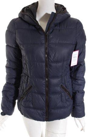 Edc Esprit Winterjacke dunkelblau Casual-Look