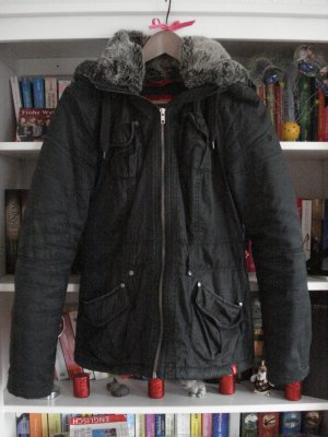edc Esprit Winterjacke mit Fellkapuze Winter