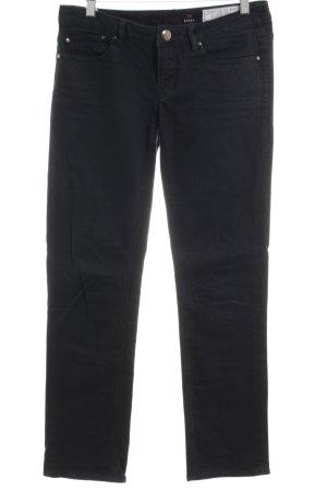 edc Pantalone cinque tasche nero stile professionale