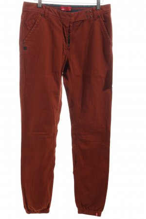 Edc Five-Pocket-Hose rostrot Casual-Look