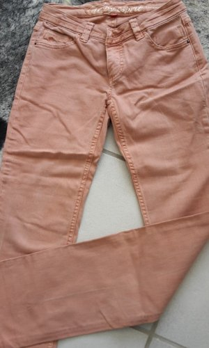 EDC FIVE Regular Straight Jeans in Apricot Fast NEU Gr. 34