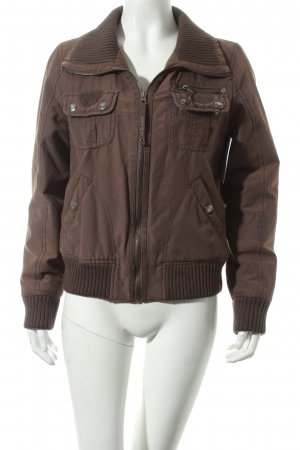 Edc Flight Jacket olive green casual look