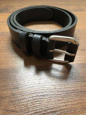 Edc Gürtel Leder schwarz