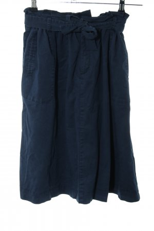 edc High Waist Rock blau Casual-Look