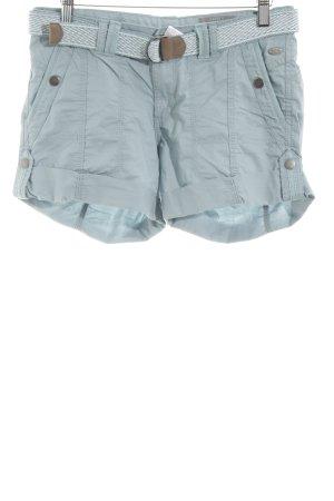 edc High-Waist-Shorts hellgrau Casual-Look