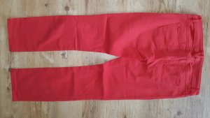 edc by Esprit Low-Rise Trousers red