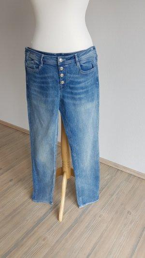 edc Hoge taille jeans blauw