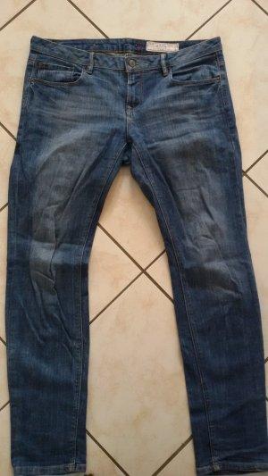 edc Jeans Denim Hose blau