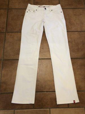 edc by Esprit Jeans coupe-droite blanc