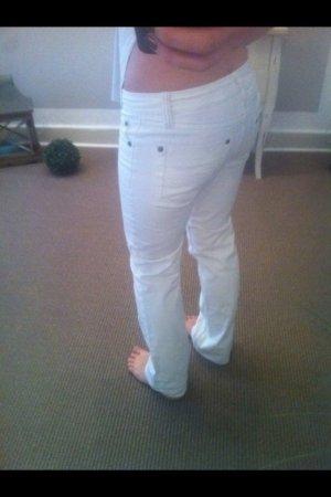 Edc Jeans Gr 26 in weiß