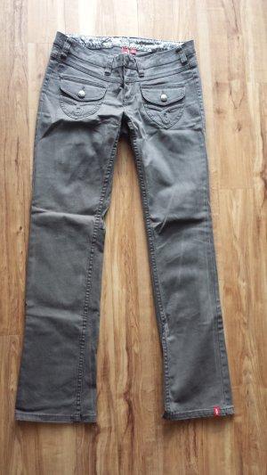 edc Jeans grau