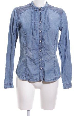 edc Denim Shirt blue casual look