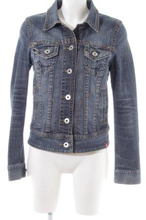 edc Denim Jacket blue casual look