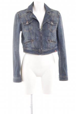 edc Denim Jacket blue casual look