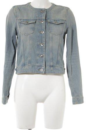 edc Jeansjacke himmelblau Street-Fashion-Look