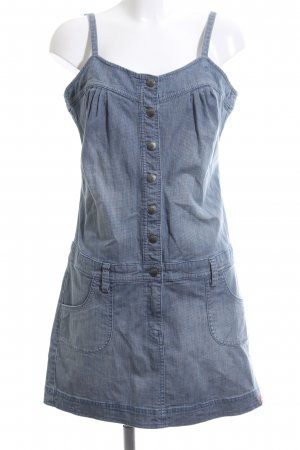 edc Denim Dress blue casual look