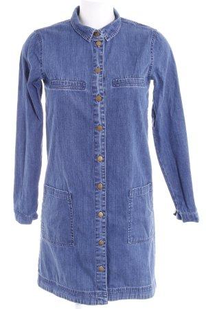 edc Jeanskleid blau Jeans-Optik