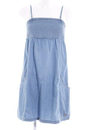 edc Jeanskleid himmelblau Jeans-Optik