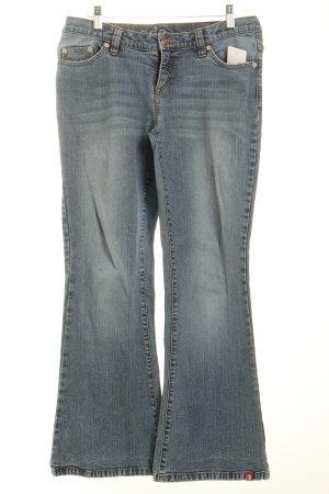Edc Jeansschlaghose blassblau 90ies-Stil