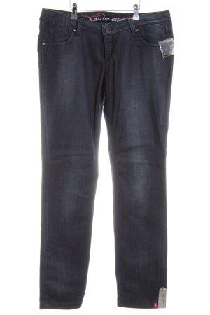 edc Jeans a zampa d'elefante blu stile casual