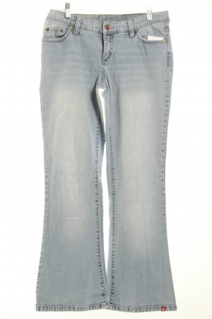 Edc Jeansschlaghose hellblau 70ies-Stil