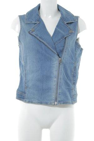 edc Jeansweste mehrfarbig Jeans-Optik