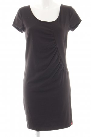 edc Jerseykleid braun Business-Look