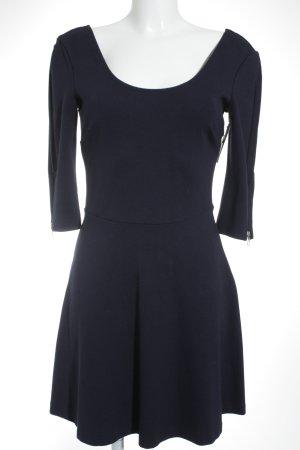 edc Jerseykleid dunkelblau Business-Look